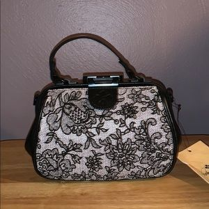 NWT Patricia Nash Chantilly Lace Small Handbag
